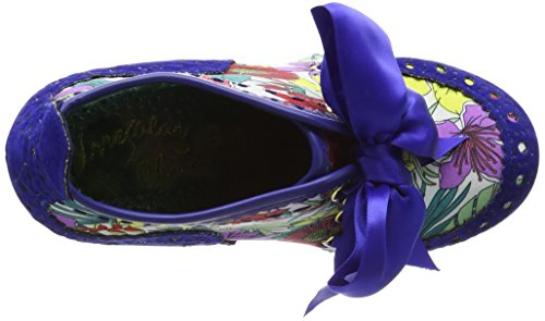 Irregular Choice Abigail's Third Party - Tacones Mujer Azul - Blue (Blue Floral)