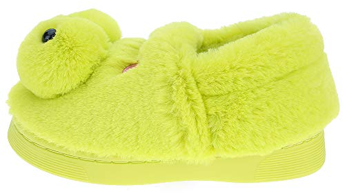 UIESUN Cute Frog Unisex Toddler Kids Slippers Shoes for Boys Girls House Slipper Green 16/17 by UIESUN (Image #1)