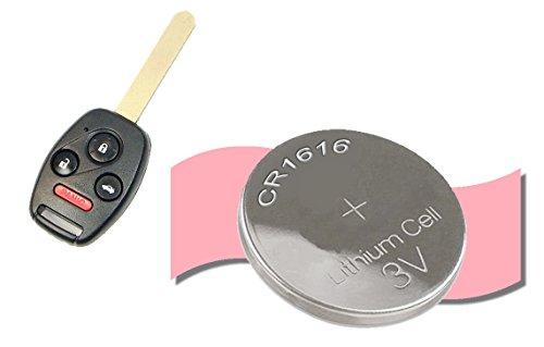 keyless remote battery x2 for 2006 2016 honda civic. Black Bedroom Furniture Sets. Home Design Ideas
