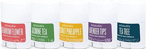 Schmidt's Travel Size Sensitive Skin Natural Deodorant Sampler