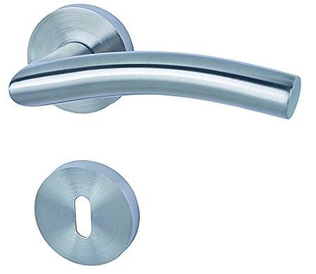 De acero inoxidable Alpertec Peking II - R para puertas de los bañ os de inodoro picaporte puerta, 28020640