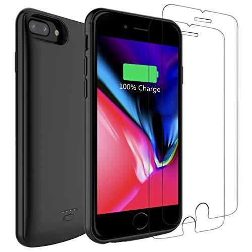 PEYOU 5500mAh Battery Case Compatible for iPhone 8 Plus/7 Plus/6s Plus/6 Plus 5.5
