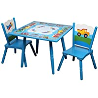 Olive Kids Trains, Planes, Trucks Table & Chair Set