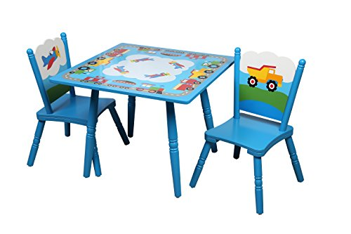 Olive Kids Trains, Planes, Trucks Table & Chair Set by Olive Kids