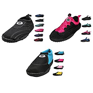 Womens Water Shoes Aqua Socks - high durability, comfortable to wear in water and on surface