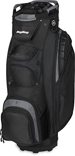 Bag Boy Golf Defender Cart Bag (Black/Charcoal)