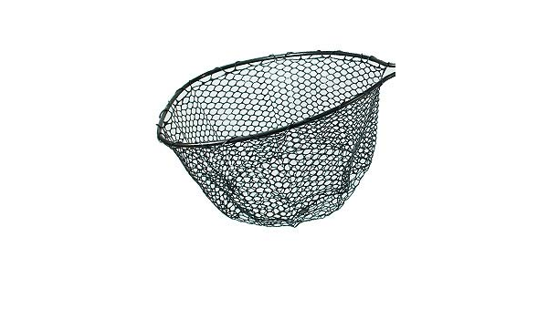 """Details about  /Rubber Replacement Fly Fishing Black Net BagHoop Approx 18/"""" x 12/"""""""