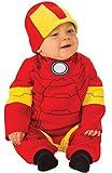 iron man baby - Rubie's Baby's Marvel Iron Man Romper, Infant (6-12 Months)