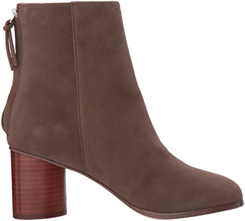 STEVEN by Steve Madden Women's Veronica Ankle Bootie, Taupe Nubuck, 8.5 M US