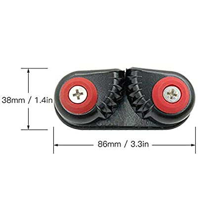 Trkee Kayak Cam Cleat Boat Rowing Fast Entry Cleats Sailing Accessories