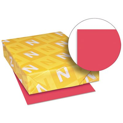 Exact Brights Paper, 8 1/2 x 11, Bright Magenta, 50 lb, 500 Sheets/Ream, Sold as 1 Ream, 500 per Ream