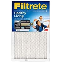 16x20x1 (15.7 x 19.7) Filtrete 1900 Ultimate Allergen Reduction Filter by 3M (4 Pack)