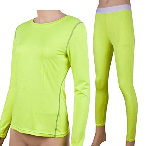 Sanke - Pantalón - para mujer verde neón