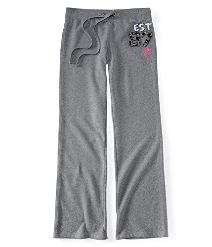 Aeropostale Womens Patch Pajama Sweatpants