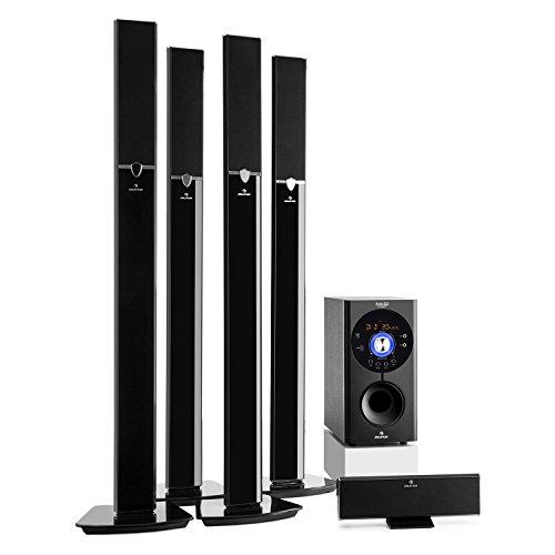 auna Areal 653 – Home Cinema 5.1, Sistema Sonido Surround, Concept 620 Envolvente, Rendimiento 145W RMS, Subwoofer…