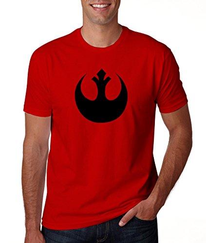 Star Wars Rebel Alliance Logo Men's Red T Shirt XL (Rebel Alliance Star Wars)