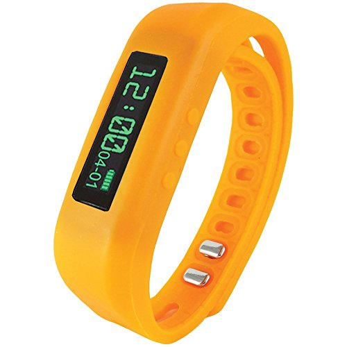 Supersonic SC-62SW ORANGE Bluetooth(R) Smart Wristband Fitness Tracker (Orange) electronic consumer Electronics