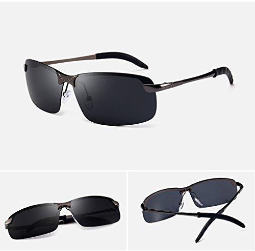 de gafas LYM Gafas D sol sol polarizadas C de gafas de de de amp; amp;Gafas gafas sol de sol gafas Color sol moda protecciónn de 7Iqr07wx