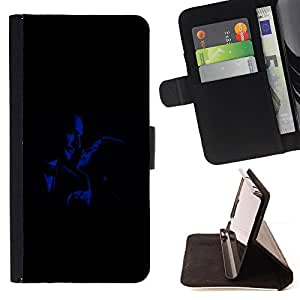 DEVIL CASE - FOR Samsung Galaxy S6 EDGE - Romance Glamour Old Movies Man Woman - Style PU Leather Case Wallet Flip Stand Flap Closure Cover