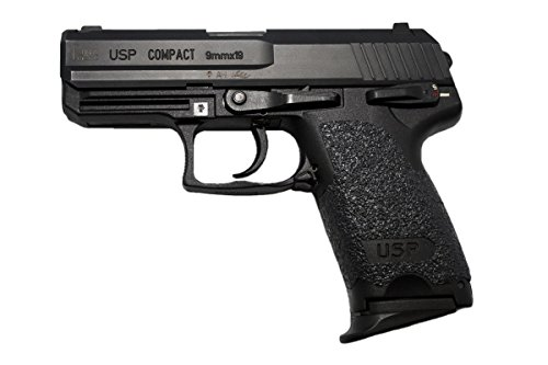 Hk Usp Compact (GripOn Textured Rubber Full Grip Wrap for HK USP Compact 9/40 (Black))