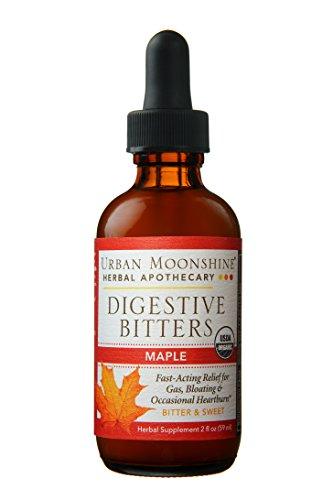 Organic Digestive Maple Bitters — 2 fl oz Dropper