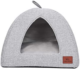 Miss Meow Cat Dog Tent Triangle Bed Removable Cushion Cover Two Way Conversion