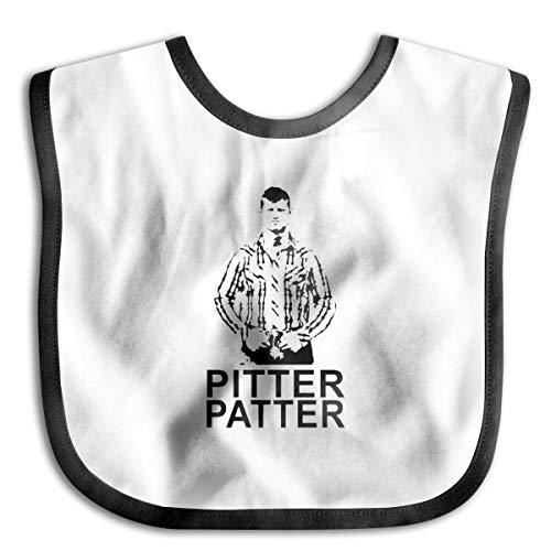 Pitter Patter Let's Get At'er Comfortable Soft Baby Bibs Unisex Bibs For Drooling ()