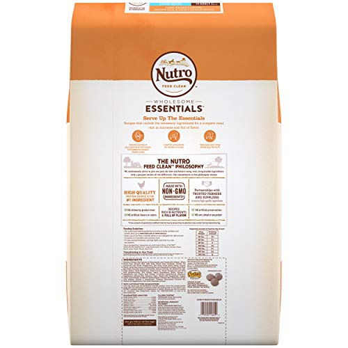 NUTRO WHOLESOME ESSENTIALS Natural Adult Large Breed Dry Dog Food Farm-Raised Chicken, Brown Rice & Sweet Potato Recipe, 30 lb. Bag