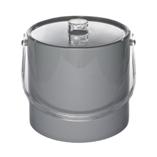 Ice Bucket 716-1 Regency 3-Quart Ice Bucket, Gray