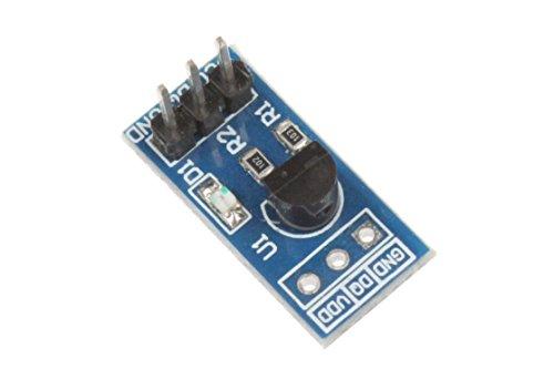 NOYITO DS18B20 Temperature Sensor Module Temperature Measurement Module Development Board ()