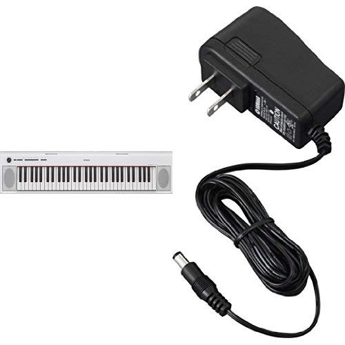 Great Deal! Yamaha NP12 61-Key Lightweight Portable Keyboard with Power Supply, White