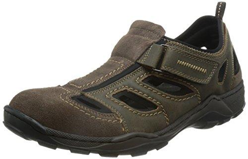 Rieker 08075-27 08075-27 - Zapatos para hombre Marrón
