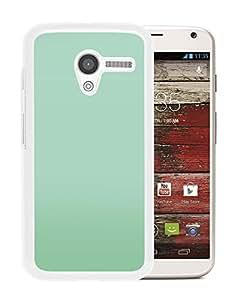 Green Classic Blur (2) Durable High Quality Motorola Moto X Phone Case