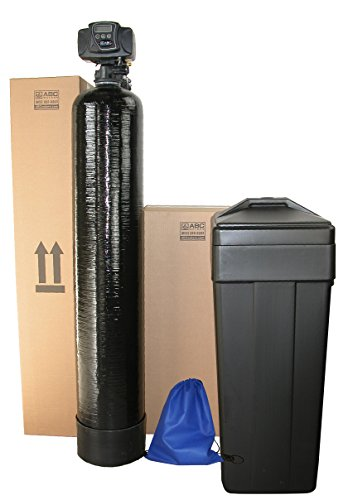 ABCwaters Built Fleck 5600sxt 48,000 Black WATER SOFTENER w/UPGRADED IRON REMOVAL + (Choosing Water Softener)
