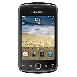 BlackBerry Curve 9380 Unlocked GSM Phone with OS 7, Touchscreen, GPS and 5MP Camera + Video Recording - Black