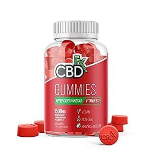 CBDfx Apple Cider Vinegar & B12 CBD Gummies (6...