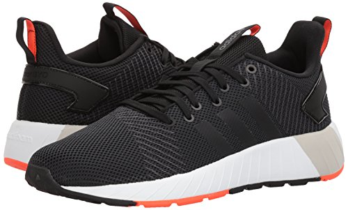 adidas Men's Questar BYD, core Black/Solar red, 6.5 M US by adidas (Image #6)