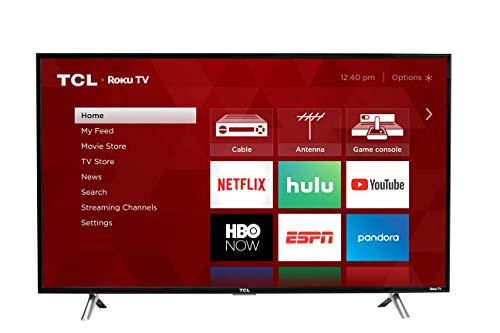 TCL 28S305 28-Inch 720p Roku Smart LED TV (2017 Model) (Best Cheap Small Tv)