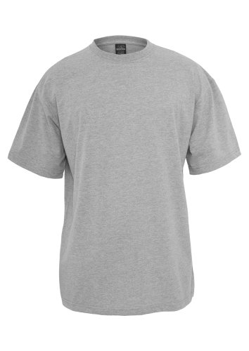 TB006 'Urban Classics' T-Shirt Tall Tee M-6XL (Various Colours), Größe:L;Farbe:grey