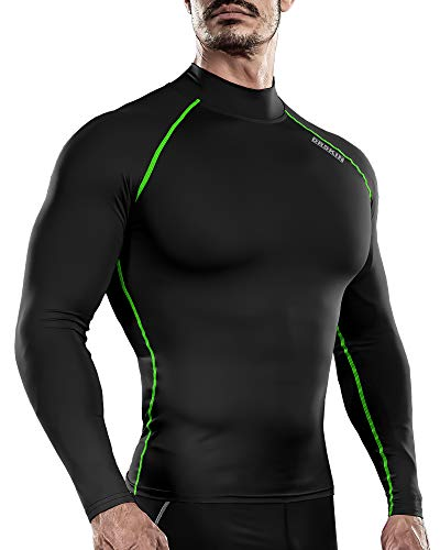DRSKIN Men's Long Sleeve Compression Shirts Top
