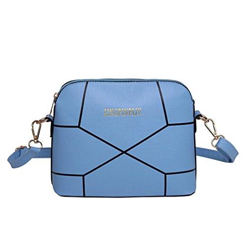 Grand sac Mode Femmes Main Crack Bleu Sac Fourre ESAILQ à à Tout Bandoulière qzRgWE