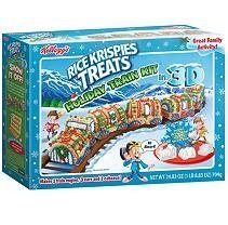 Kellogg's Rice Krispies Treats Holiday Train Kit in 3D by Kellogg's