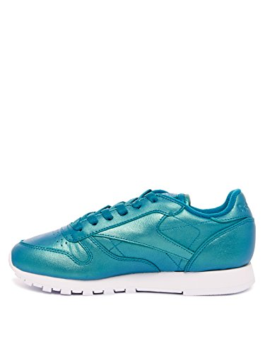 Reebok Pearlized Lthr Verde Leather Cl Classic Mujer PC7Zx