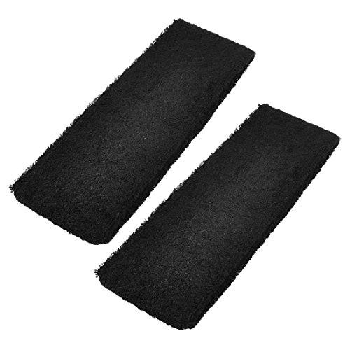Head Band - TOOGOO(R) Black Spa Bathing Terry Elastic Headband Hair Tie Band 2 Pcs