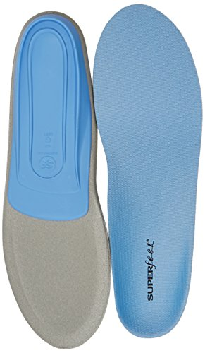 Superfeet Blue Premium Insoles Blue E  10 5   12 Us Womens 9 5   11 Us Mens