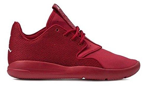 Nike - Zapatillas de baloncesto de tela para niño rojo rojo Rot (Gym Red/White)