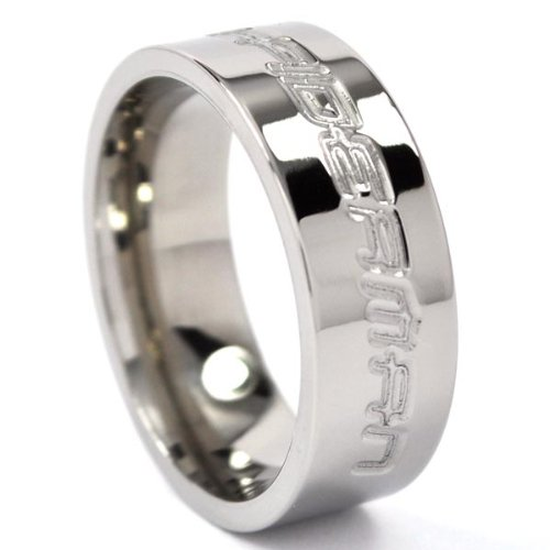 Spiderman Ring Titanium Ring Comic Bands Movie Jewelry Wedding Rings