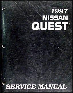 1997 nissan quest van repair shop manual original nissan amazon com books amazon com