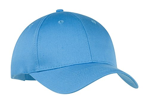 Port & Company Men's Six Panel Twill Cap OSFA Carolina Blue ()