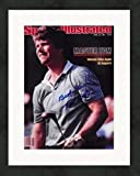 Tom Watson autographed magazine cover (Golf Hall of Famer) #SC9 Matted & Framed - Autographed Golf Equipment